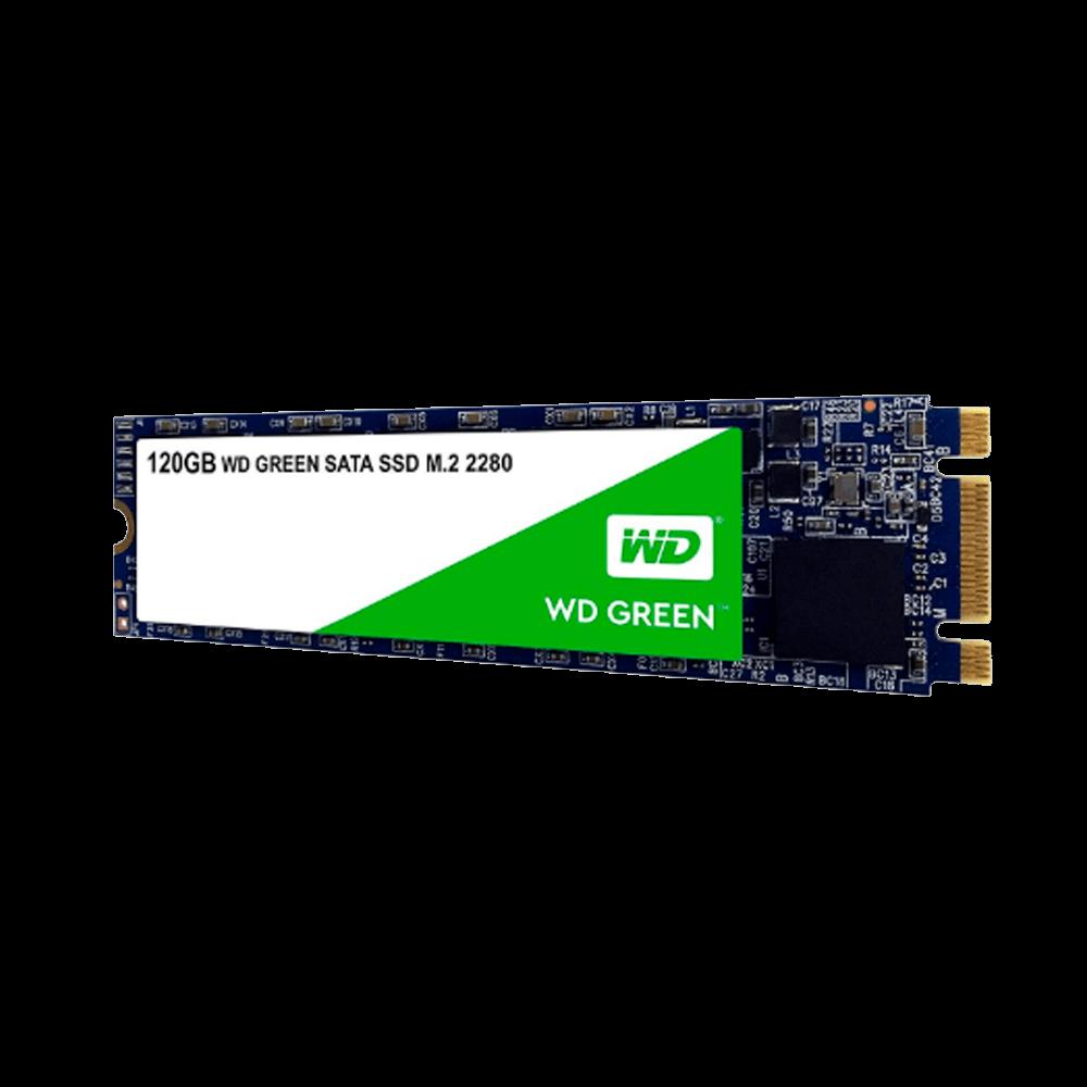 SSD M.2 SATA3 120GB WESTERN DIGITAL WDS120G2G0B GREEN