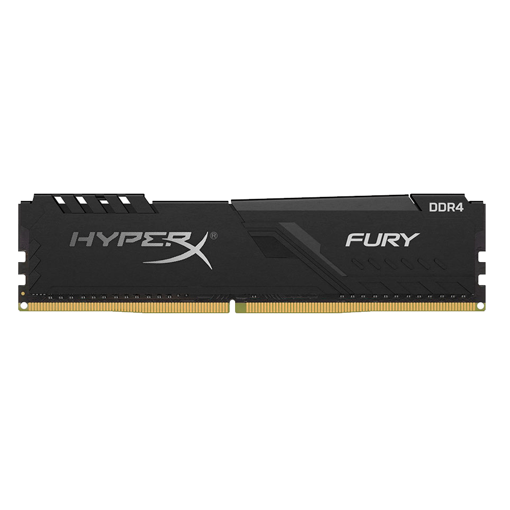 MEMORIA RAM DDR4 8G 2666 KING HYPX FURY BK HX426C16FB3/8