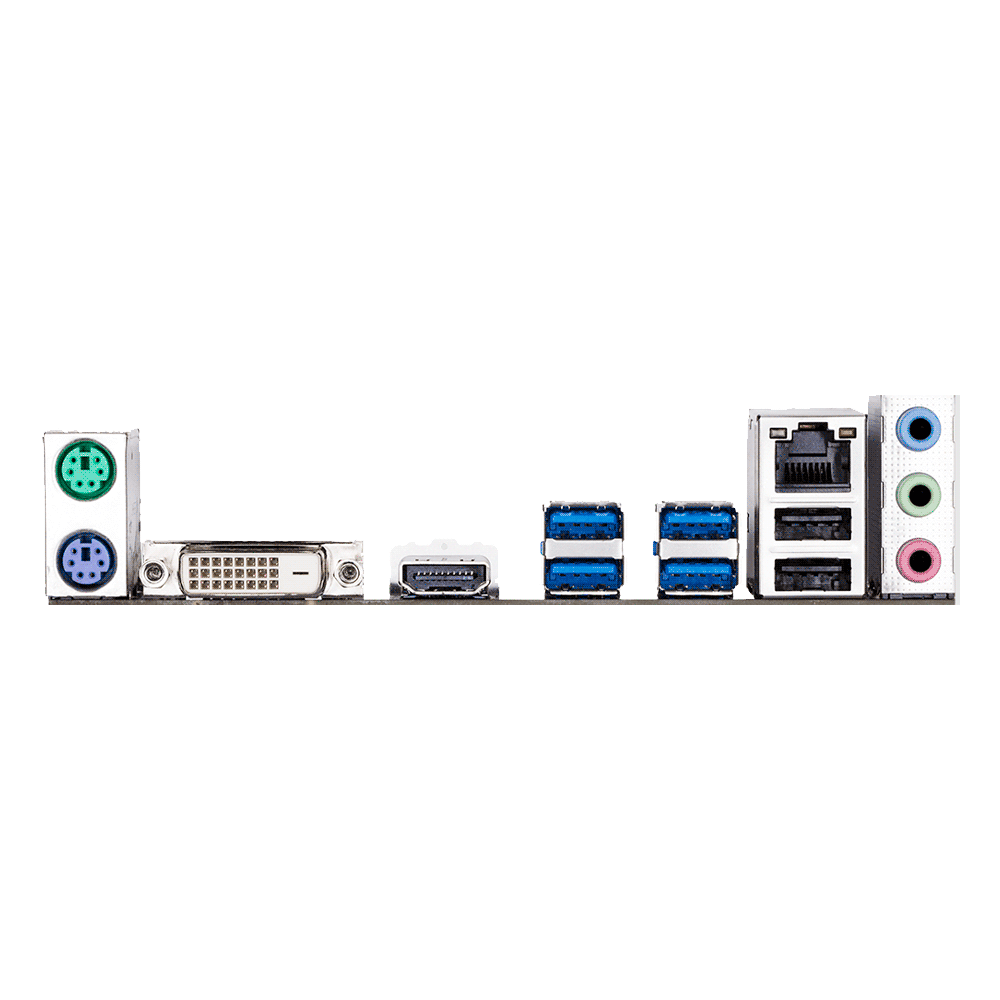 PLACA MADRE GIGABYTE AM4 A320M-H 2.0 S/R/HDMI/DVI/M.2/DDR4/MATX