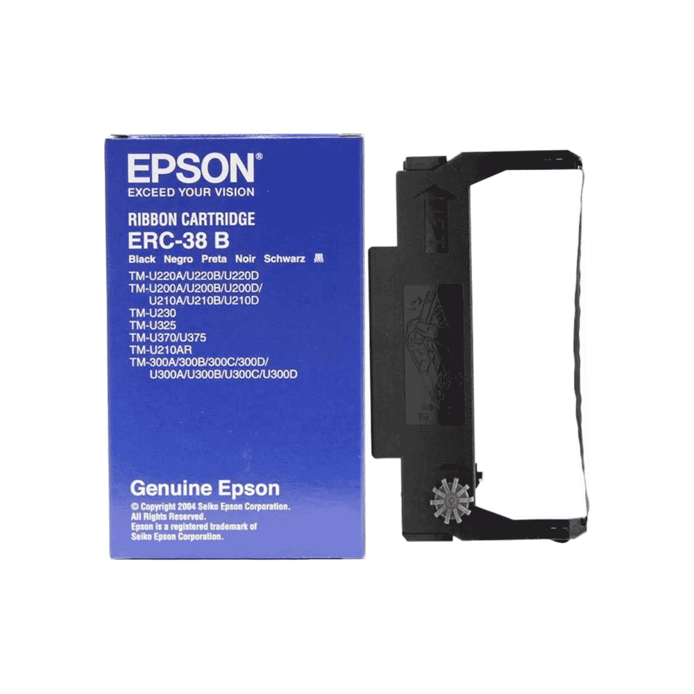 CINTA EPSON ERC-38B NEGRO
