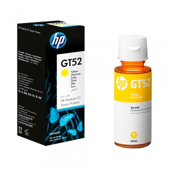 TINTA HP GT52 AMARILLO M0H56AL 70ML