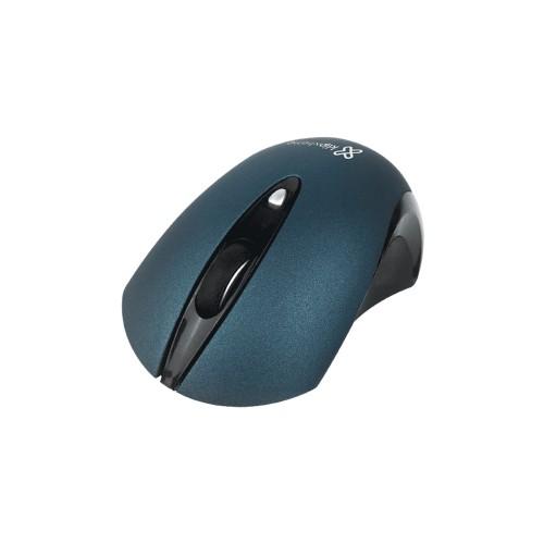 MOUSE KLIP W. KMW-400BL GHOS 1600DPI/3D 4 BOT/ AZUL