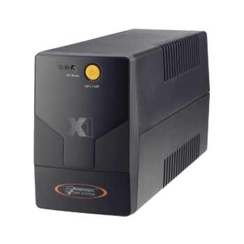 UPS 220V 1000VA 500W INFOSEC X1 LINEA INTERACTIVA