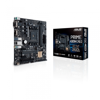PLACA MADRE ASUS AM4 PRIME A320M-C R2.0 V/S/R/HDMI