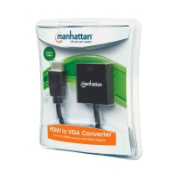 CONVERTIDOR HDMI-VGA 151436 FHD BLISTER NEGRO