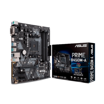 PLACA MADRE ASUS AM4 PRIME B450M-A V/S/R/HDMI/DVI/