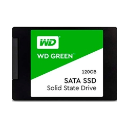 SSD SATA3 120GB WESTERN DIGITAL WDS120G2G0A GREEN