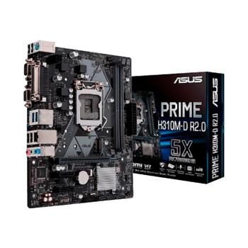 PLACA MADRE ASUS 1151 PRIME H310M-D R2.0 V/S/R/HDM
