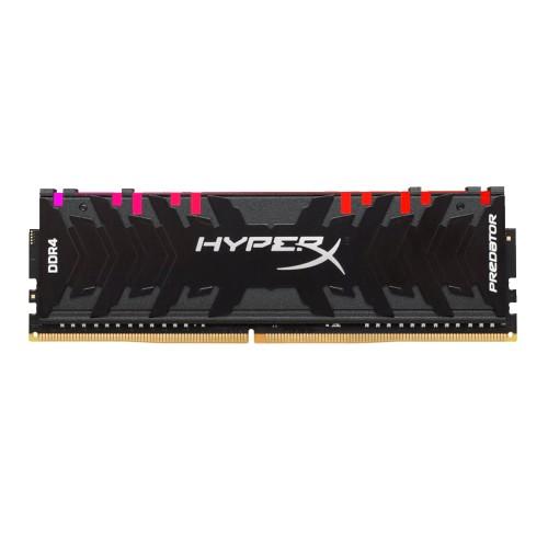MEMORIA RAM DDR4 8G 3200 KING HYPX PREDATOR BK HX432C16PB3A/8 RGB
