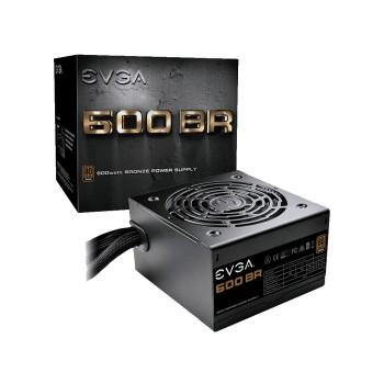 FUENTE EVGA 600W 80PLUS BRONZE 100-BR-0600-K1