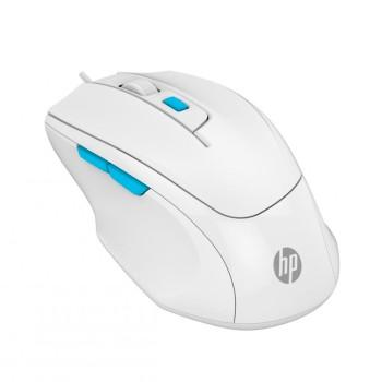 MOUSE GAMER USB M150 HP OPTICO 6400DPI/6 BOT/ BLAN