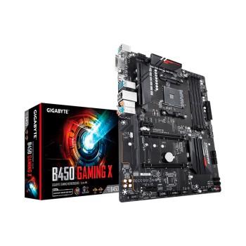 PLACA MADRE GIGABYTE AM4 B450 GAMER X S/R/HDMI/DVI