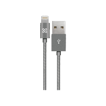 CABLE KLIP USB LIGHTNING BRAID KAC-010GR 1M P/ IPH