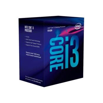 PROCESADOR INTEL 1151 CORE I3-9100 3.6GHZ/6MB C/CO