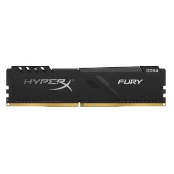 MEMORIA RAM DDR4 8G 2666 KING HYPX FURY BK HX426C1