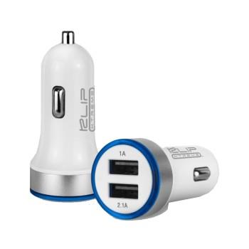 CARGAGOR KLIP DUAL USB P/AUTO KMA-105 3.1A 12V/ 24