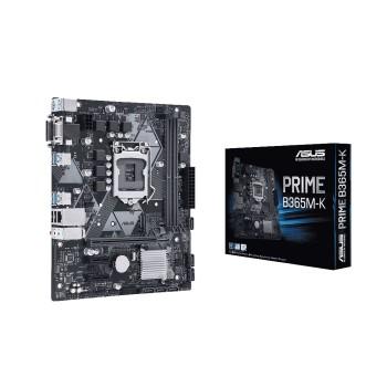 PLACA MADRE ASUS 1151 PRIME B365M-K V/S/R/DVI/M2/D