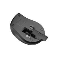MOUSE KLIP W. KMW-356BK ANCHOR 1600DPI/6 BOT/ NEGRO