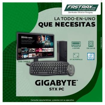 COMPUTADORA AIO GIGA MINI STX I3-8100 3.6GHZ/4GB/S