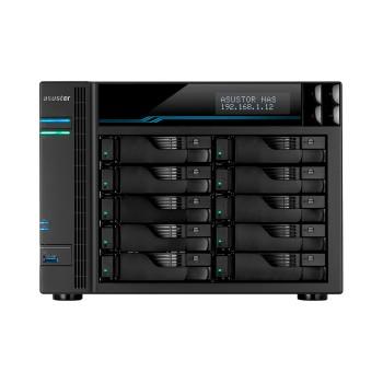 ALMACENAMIENTO NAS ASUSTOR AS6510T QC2.1/10BAY/8GB