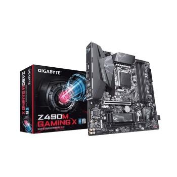 PLACA MADRE GIGABYTE 1200 Z490M GAMING X S/R/HDMI/