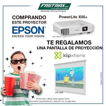 COMBO PROYECTOR EPSON X05+ 3300L XGA VGA/HDMI + PA