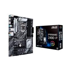 PLACA MADRE ASUS 1200 PRIME Z490-P S/R/HDMI/DP/2M2/DDR4/USB3.2/AURA/ATX