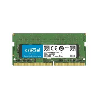 MEMORIA RAM P/NB DDR4 8GB 2666 CRUCIAL CT8G4SFRA26