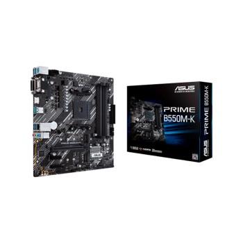 PLACA MADRE ASUS AM4 PRIME B550M-K V/S/R/HDMI/DVI/
