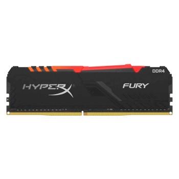 MEMORIA RAM DDR4 16G 2666 KING HYPX FURY BK HX426C