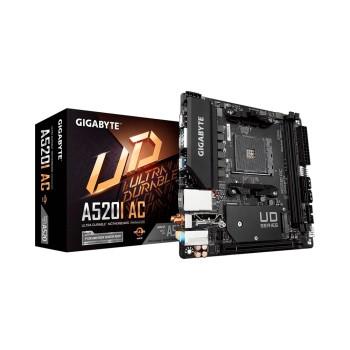 PLACA MADRE GIGABYTE AM4 A520I AC 1.1 S/R/HDMI/DP/