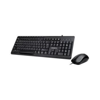 TECLADO+MOUSE GIGABYTE USB GK-KM6300 ING/ NEGRO