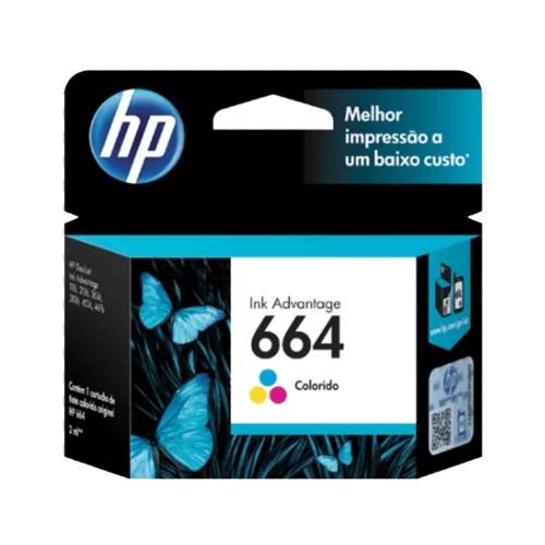 TINTA HP 664 COLOR F6V28AL DJ 2135 2ML