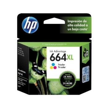 TINTA HP 664XL COLOR F6V30AL 8ML