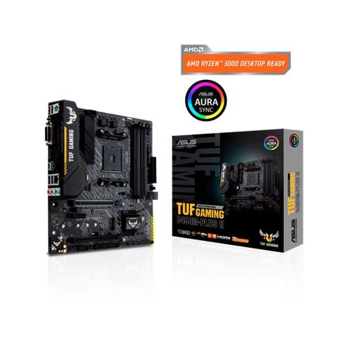 PLACA MADRE ASUS AM4 TUF GAMING B450M-PLUS II S/R/HDMI/DVI/M2/DDR4/MATX/RGB