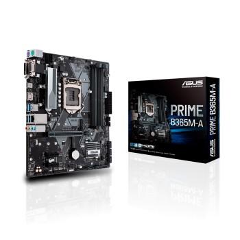 PLACA MADRE ASUS 1151 PRIME B365M-A V/S/R/HDMI/DVI
