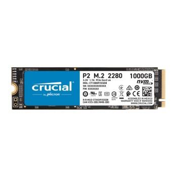 SSD M.2 PCIE NVME 1TB CRUCIAL P2 2280 3D CT1000P2S