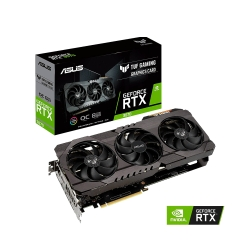 PLACA DE VIDEO ASUS RTX3070 OC 8GB DDR6 TUF-RTX3070-O8G-GAMING AURA