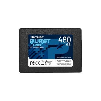 SSD SATA3 480GB PATRIOT BURST ELITE PBE480GS25SSDR