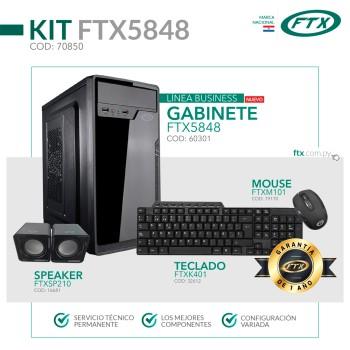 GABINETE KIT FTX5848 500W+ MOUSE+TECLADO MULTIMEDI