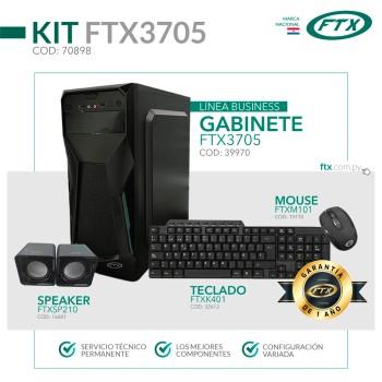 GABINETE KIT FTX3705 500W+ MOUSE+ TECLADO MULTIMED