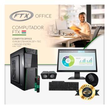 COMPUTADORA FTX OFFICE I5/8GB/1TB+ MON 19
