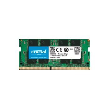MEMORIA RAM P/NB DDR4 16GB 2666 CRUCIAL CT16G4SFRA