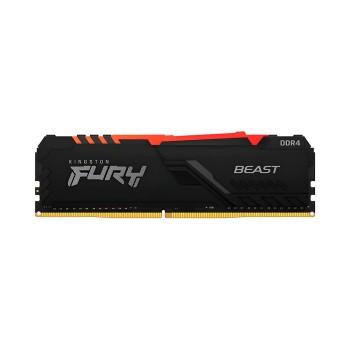 MEMORIA RAM DDR4 8GB 3000 KINGSTON FURY BEAST BK K