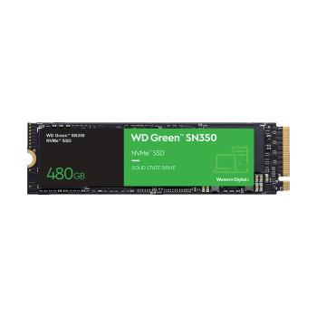 SSD M.2 PCIE 480GB WESTERN D SN350 NVME WDS480G2G0