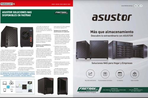 Asustor soluciones NAS disponibles en Fastrax
